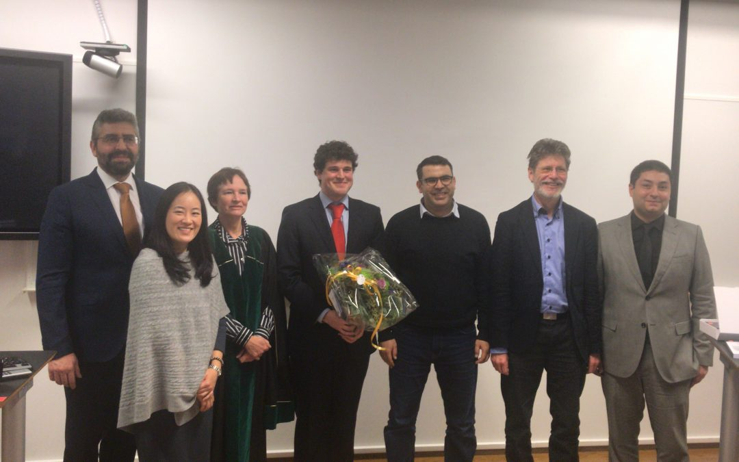Jaime Font defended his tesis at University of Oslo