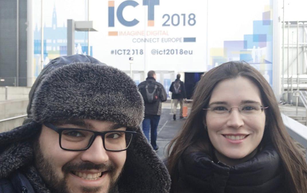 Attendance @ ICT 2018 (Vienna)