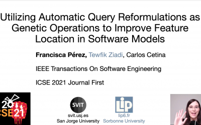 Our collaboration with LiP6 (Sorbonne University) presented at ICSE21